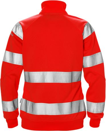 Varsel sweatshirt-jacka 7427 SHV klass 3, dam 2 Fristads  Large