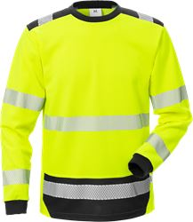 High vis T-shirt lange mouwen klasse 3 7724 THV Fristads Medium
