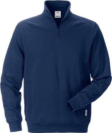 Sweatshirt med kort dragkedja 7607 SM 1 Fristads