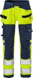 High vis craftsman stretch trousers woman class 2 2613 PLUS Fristads Medium