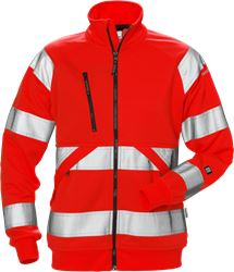 High Vis Sweatjacke Damen Kl. 3 7427 SHV Fristads Medium