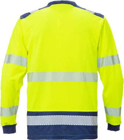 High vis long sleeve t-shirt class 3 7724 THV 2 Fristads  Large
