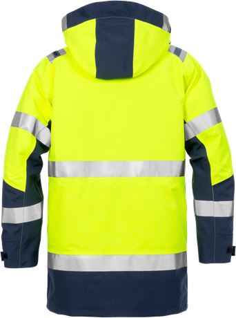 High Vis GORE-TEX Winterparka Kl.3 4989 GXB 2 Fristads  Large