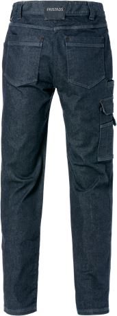 Service denim stretch bukser dame 2506 2 Fristads  Large