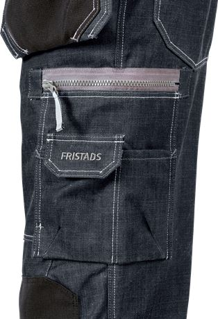 Denim pirate trousers 2149 DY 6 Fristads  Large