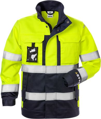 Flame high vis jacket woman class 3 4590 FLAM 2 Fristads  Large