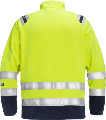 Flamestat high vis fleece jacket class 3 4063 ATF 2 Fristads  Large