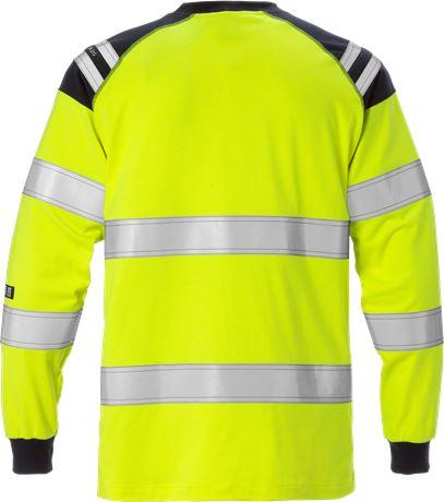 Flamestat high vis long sleeve t-shirt class 3 7077 TFLH 2 Fristads  Large