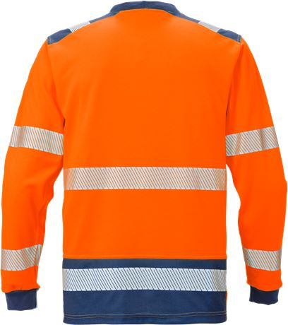 High Vis T-Shirt Langarm KL. 3 7724 THV 2 Fristads  Large