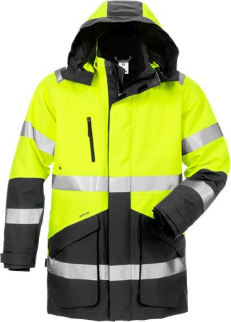 High vis GORE-TEX winter parka class 3 4989 GXB 1 Fristads  Large