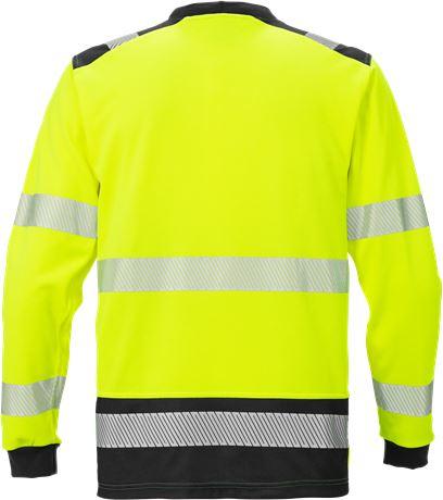 Varsel Långärmad T-shirt 7724 THV, klass 3 2 Fristads  Large
