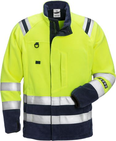 Flamestat high vis fleece jacket class 3 4063 ATF 1 Fristads  Large
