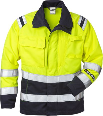 Flamestat high vis jacket woman class 3 4275 ATHS 1 Fristads  Large