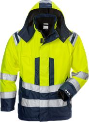 High vis Airtech® winter jacket woman cl 3 4037 GTT Fristads Medium