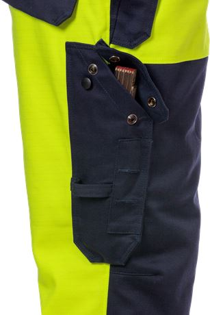 Flame high vis winterbroek klasse 2 2588 FLAM 9 Fristads  Large
