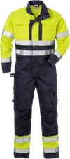 Flame High Vis Overall Kl. 3 8084 FLAM 1 Fristads Small