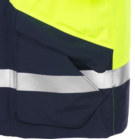 High vis GORE-TEX winter parka class 3 4989 GXB 9 Fristads  Large