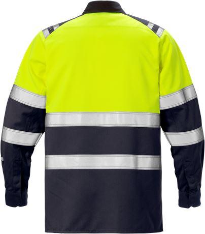 Flamestat high vis shirt class 1 7051 ATS 2 Fristads  Large