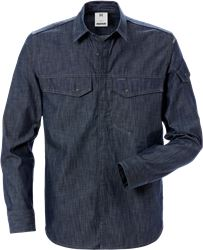 Chemise en denim 7003 DSH Fristads Medium