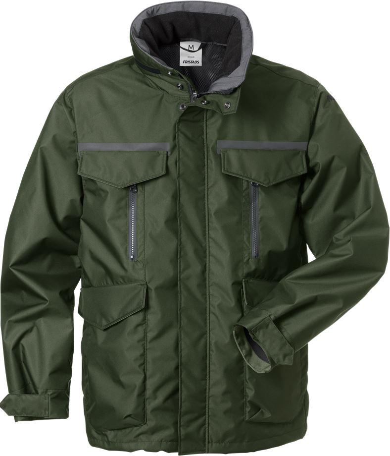 Fristads Men's Airtech skaljacka zip-in 4011 GTC, Militärgrön