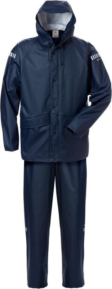 Fristads Men's Regnställ 4099 LRS, Mörk marinblå