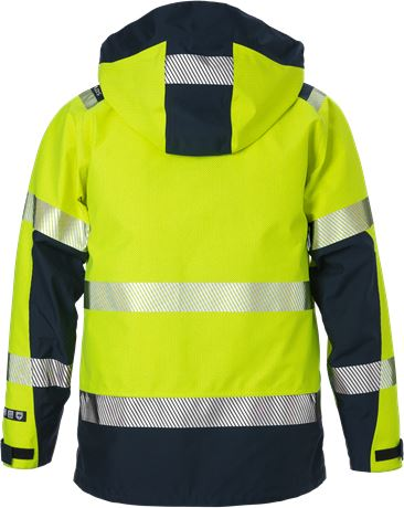 Flamestat high vis GORE-TEX PYRAD® shell jacket class 3 4095 GXE 2 Fristads  Large