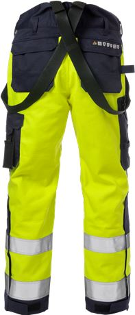 Flame high vis winterbroek klasse 2 2588 FLAM 7 Fristads  Large