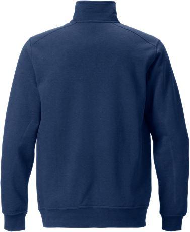 Sweatshirt med kort dragkedja 7607 SM 2 Fristads  Large