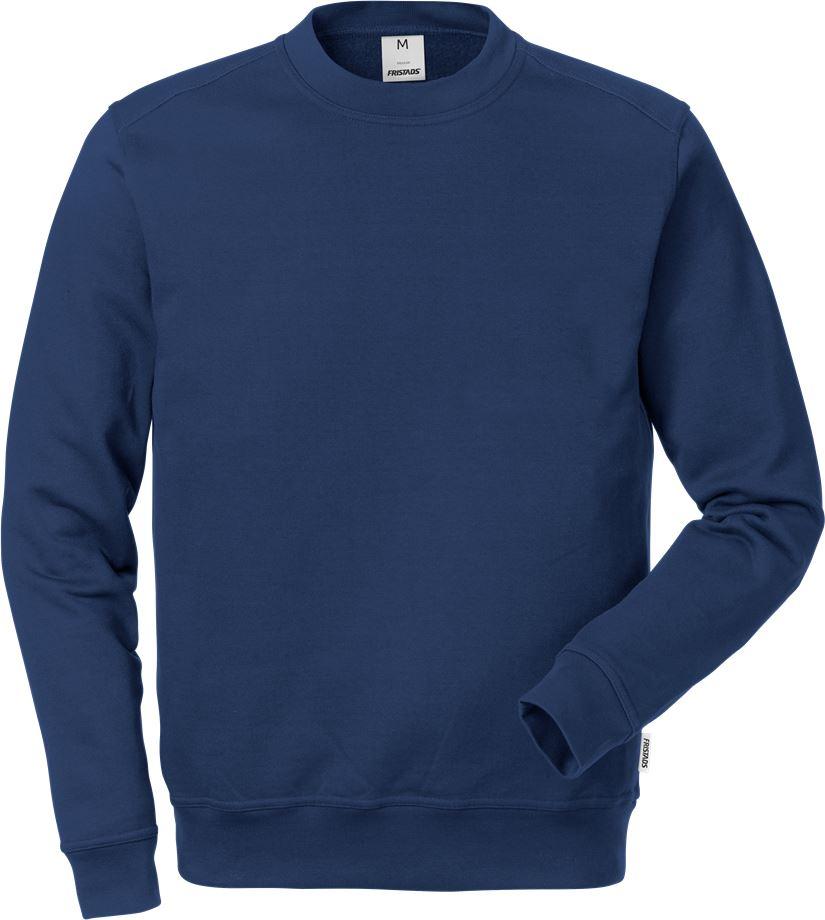 Fristads Men's Sweatshirt 7016 SMC, Mörk marinblå