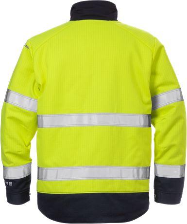 Flame high vis winter jacket class 3 4588 FLAM 2 Fristads  Large