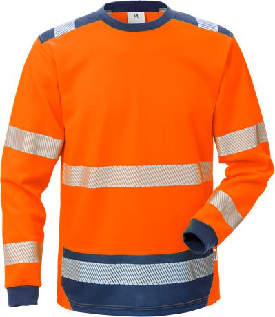 High Vis T-Shirt Langarm KL. 3 7724 THV 1 Fristads  Large