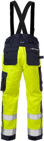 Flame high vis winterbroek klasse 2 2588 FLAM 6 Fristads  Large