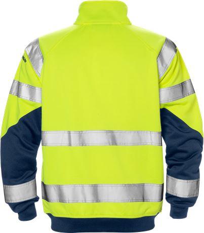 Varsel sweatshirt-jacka 7426 SHV, klass 3 2 Fristads  Large