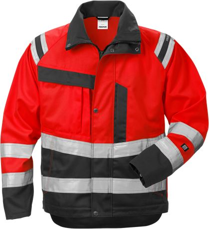 High Vis Jacke Damen Kl. 3 4129 PLU 1 Fristads  Large
