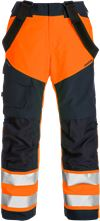 High vis GORE-TEX shell trousers class 2 2988 GXB 1 Fristads Small