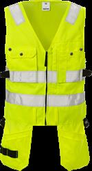 High vis waistcoat cl 2 5003 PLU Fristads Medium