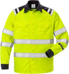 Flamestat high vis overhemd klasse 3 7050 ATS Fristads Medium