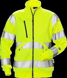 Varsel sweatshirt-jacka 7427 SHV kl 3, dam Fristads Medium