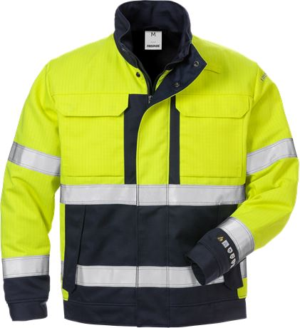 Flame High Vis Winterjacke Kl. 3 4588 FLAM 1 Fristads  Large