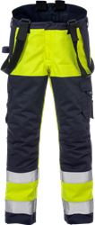 Flame high vis winter trousers class 2 2588 FLAM Fristads Medium
