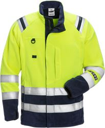 Flamestat Hi Vis Fleecejakke kl.3 4063 Fristads Medium
