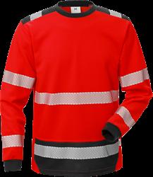 High vis T-skjorte, langermet cl 3 7724 THV Fristads Kansas Medium