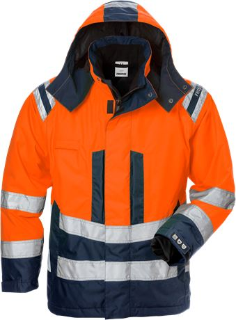 High vis Airtech® winter jacket woman class 3 4037 GTT 1 Fristads  Large
