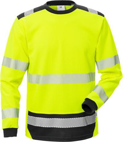 Varsel Långärmad T-shirt 7724 THV, klass 3 1 Fristads  Large
