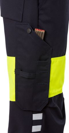 Flamestat high vis trousers woman class 1 2776 ATHS 4 Fristads  Large