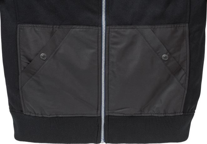 Sweatshirt-jacka med huva 7783 LYS 4 Fristads  Large