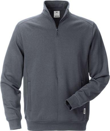 Sweatshirt med kort dragkedja 7607 SM 1 Fristads  Large