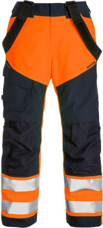 High vis GORE-TEX shell trousers class 2 2988 GXB 1 Fristads