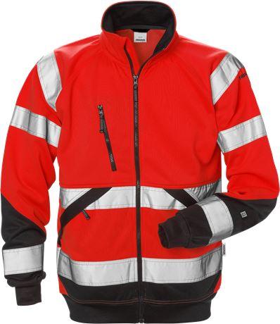 Varsel sweatshirt-jacka 7426 SHV, klass 3 1 Fristads  Large