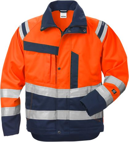High vis jacket woman class 3 4129 PLU 1 Fristads  Large